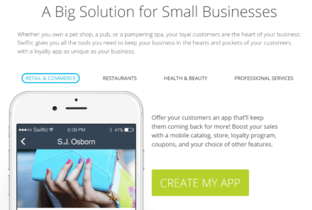 Swiftic for Small Businesses