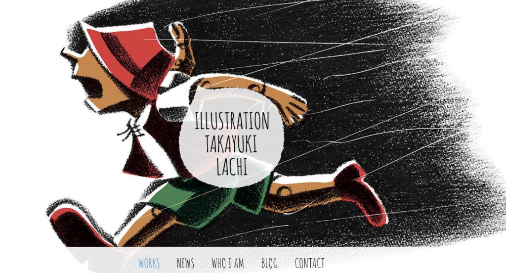 Jimdo sample art designer website template