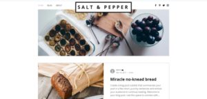 Wix Food Blog Template