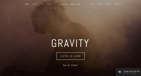Squarespace for musicians and bands